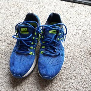 Nike Running shoes Blue Fluorescent Green